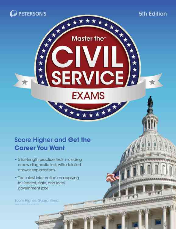 Master the Civil Service Exams By Peterson's (COR)
